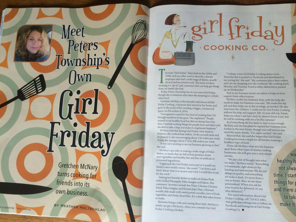 Girl Friday in Peters Township InCommunity Magazine